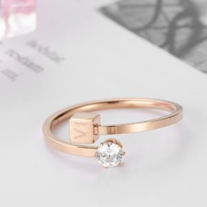 Roman numeral bypass ring